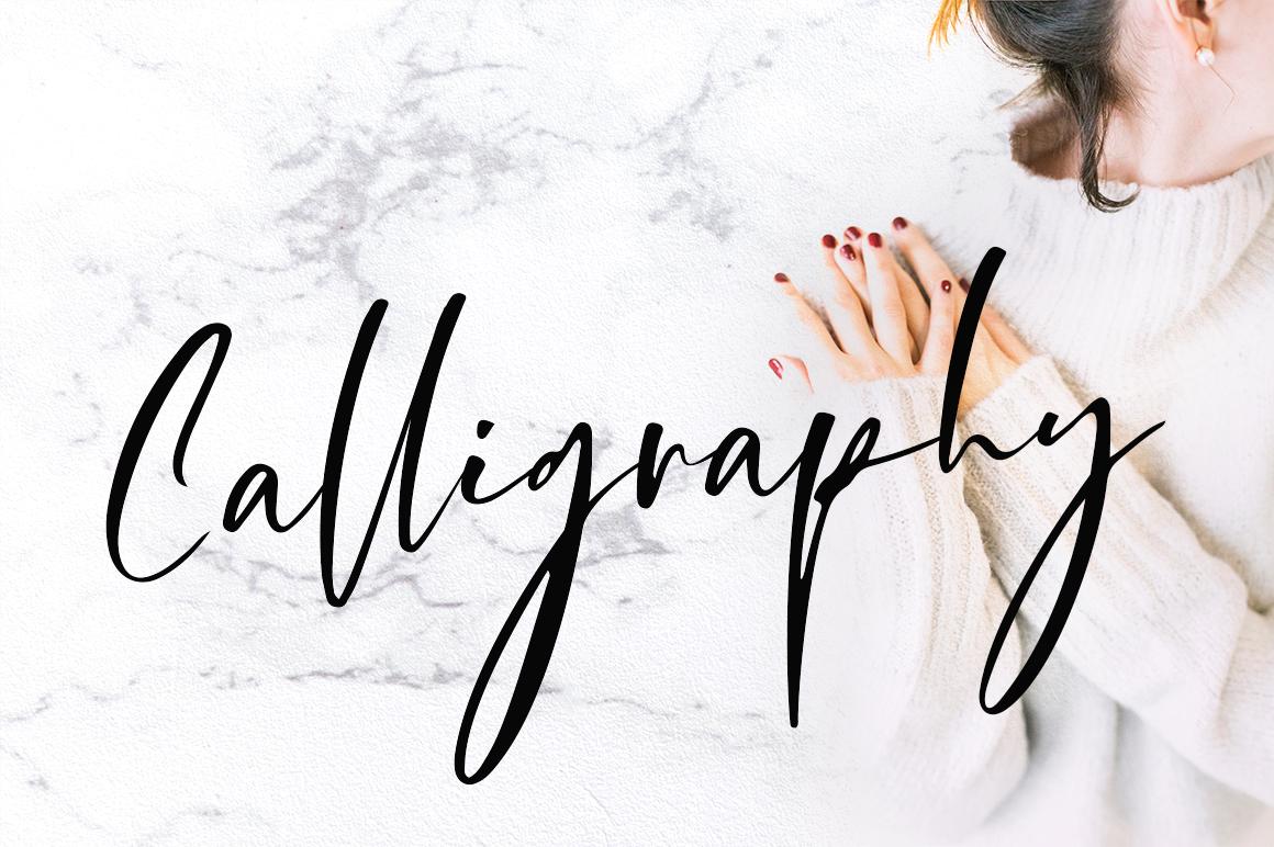 Storytelling - Modern Calligraphy example image 5
