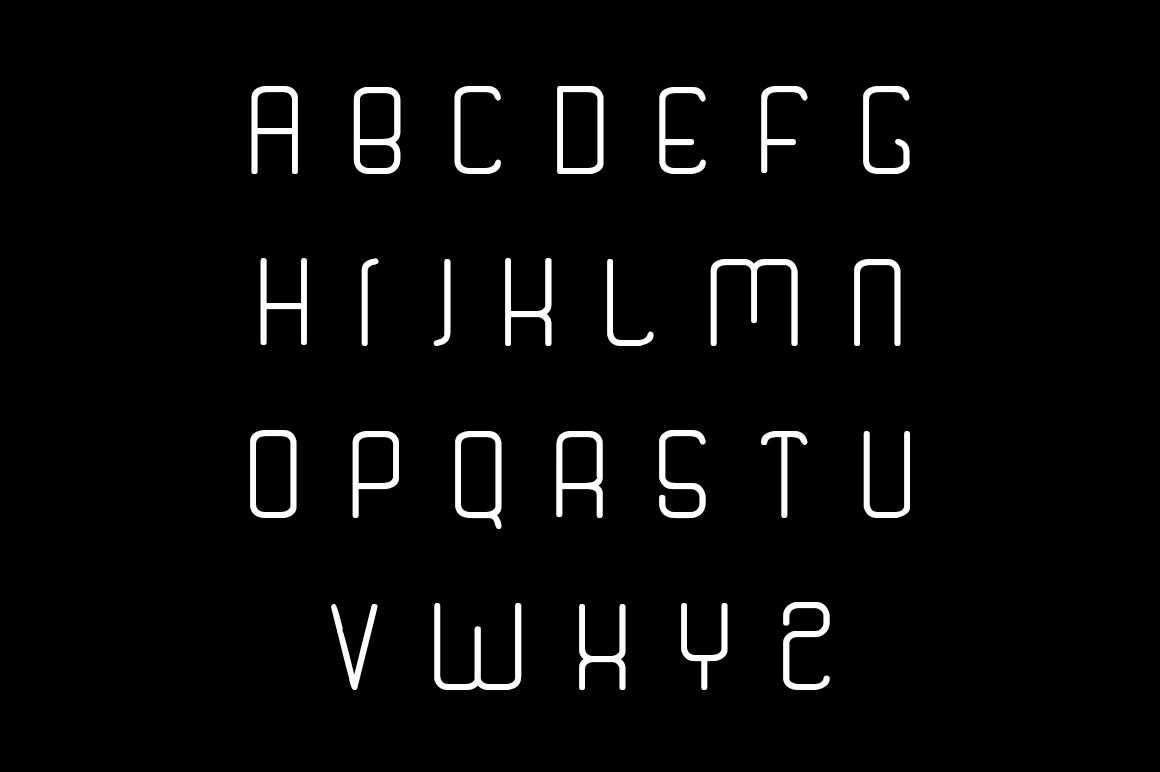 Quantum Font example image 2