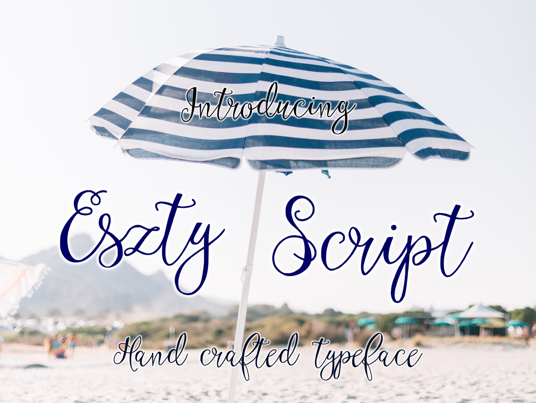 Eszty Script Font example image 7