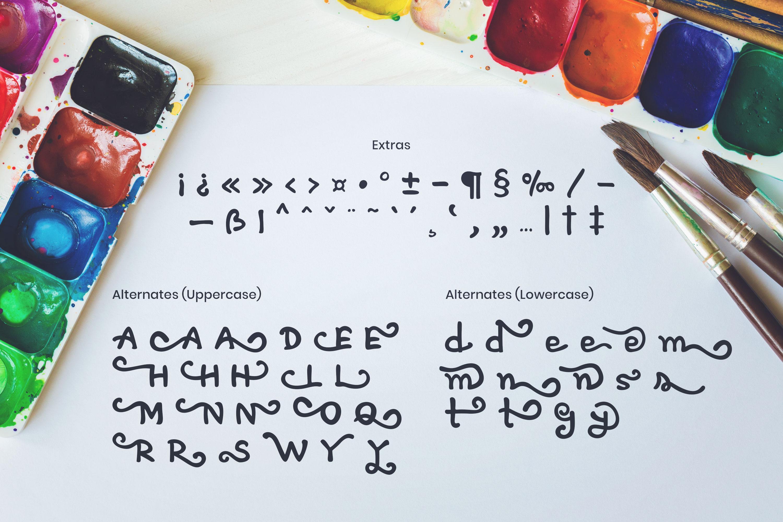 Artless - Handwritten Font example image 2