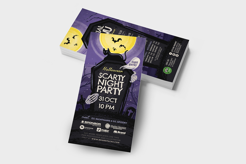 Halloween Flyer Template example image 7