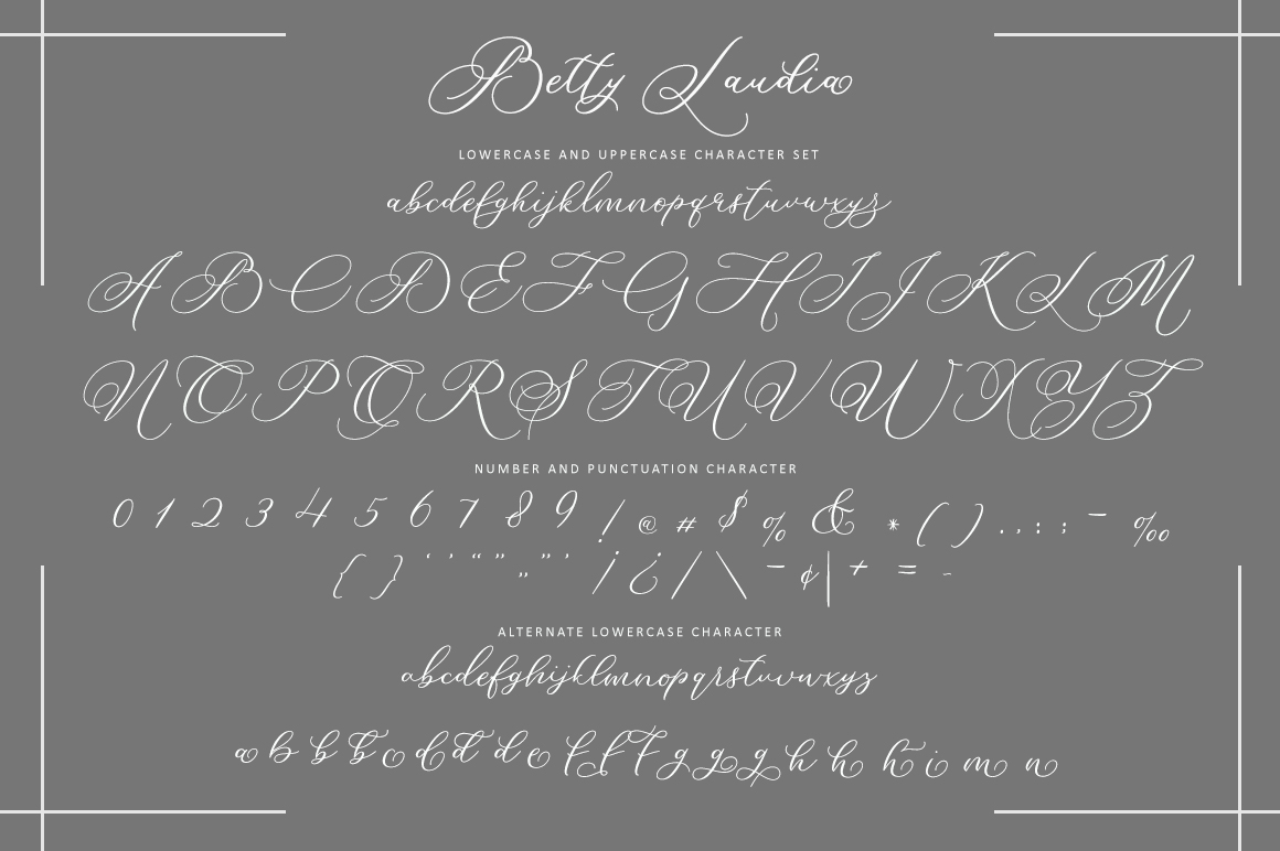 Betty Laudia | Modern Calligraphy example image 9