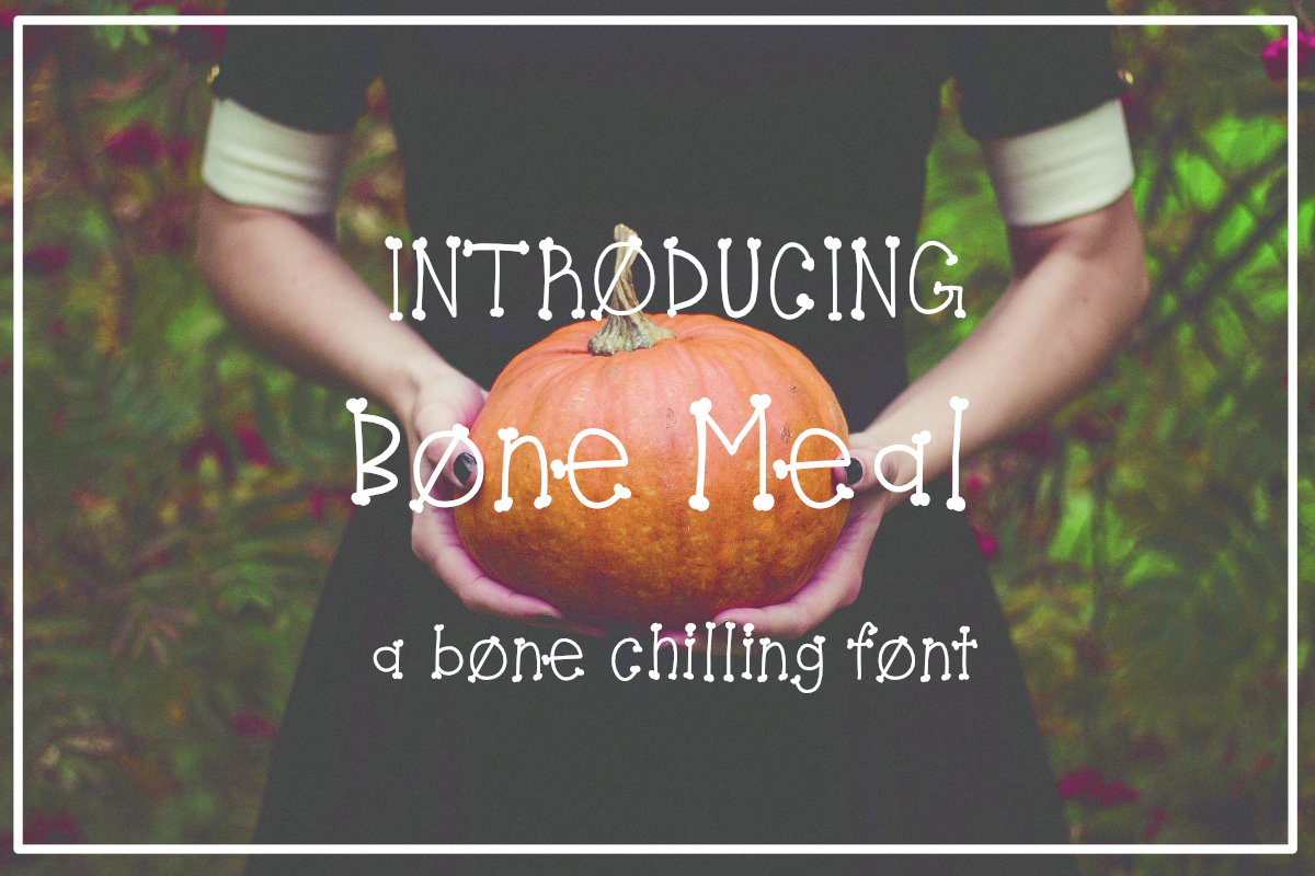 Bone Meal Font example image 1