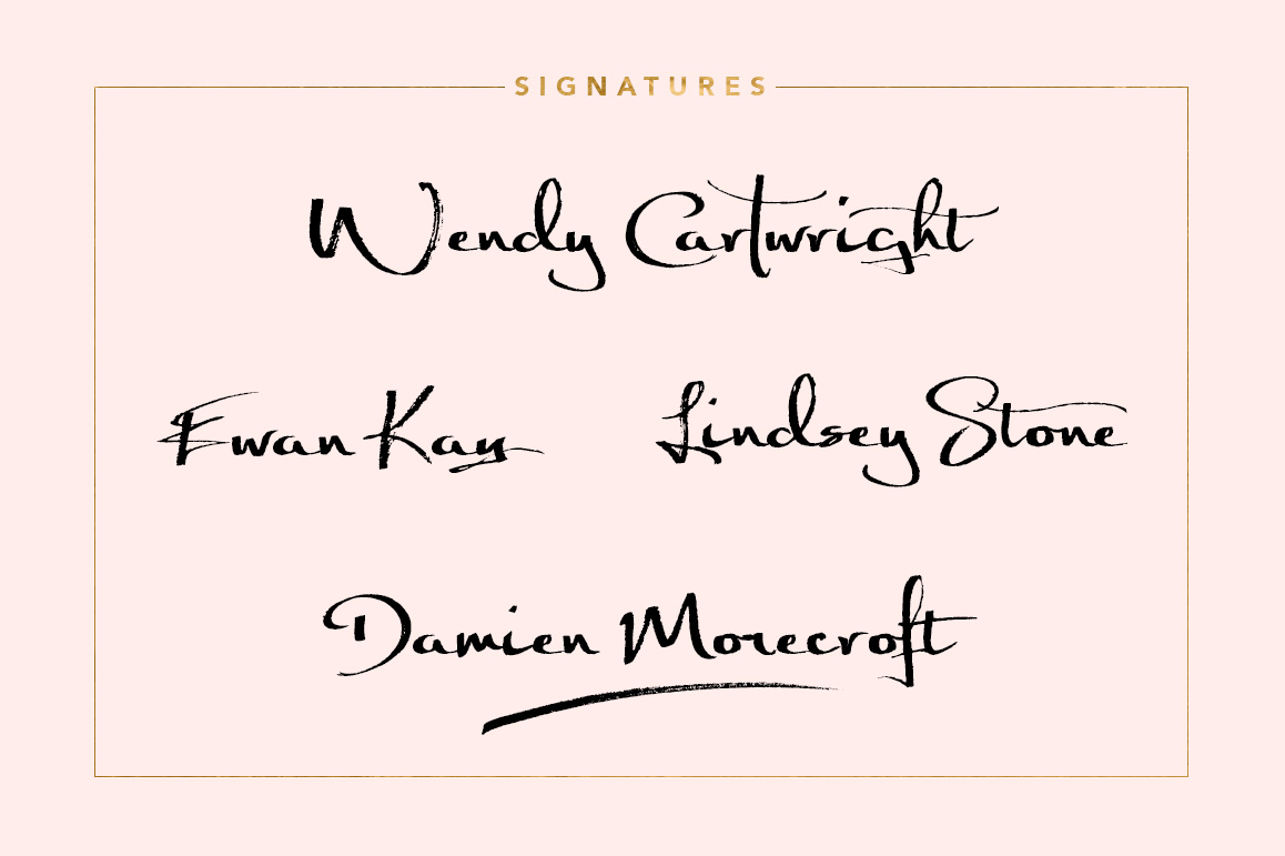 Significant Signature Font example image 3
