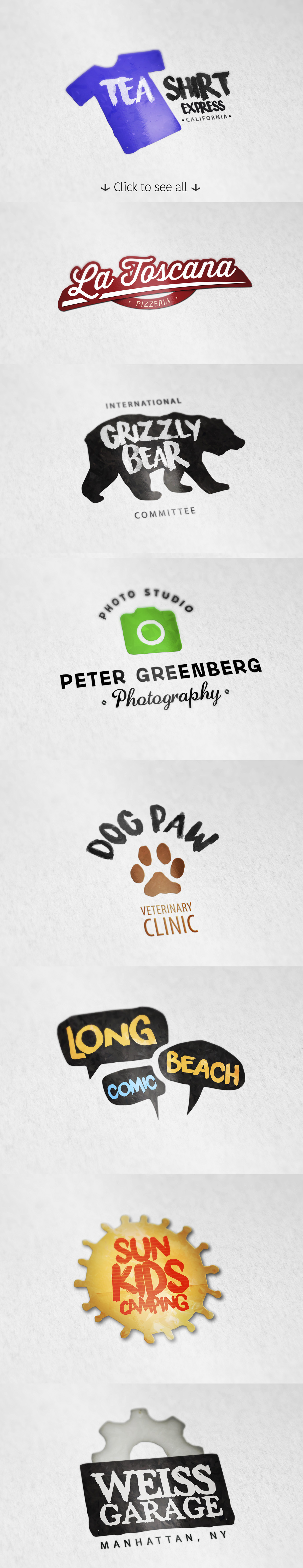 8 Logo Templates + Extras vol.2 example image 2