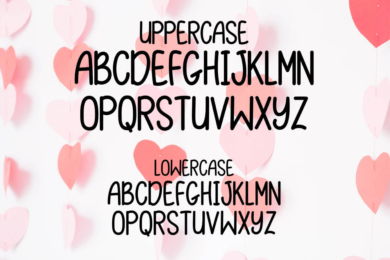 Love Letters - A Valentine Monogram Font example image 2