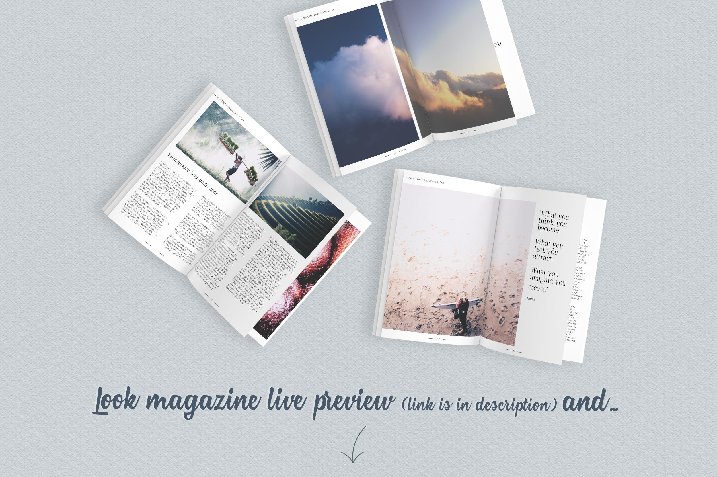 Asian Dream Magazine Template example image 6