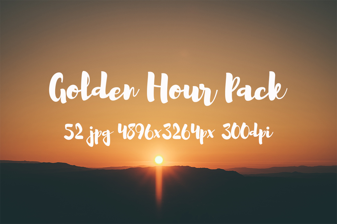 Golden hour Pack example image 3