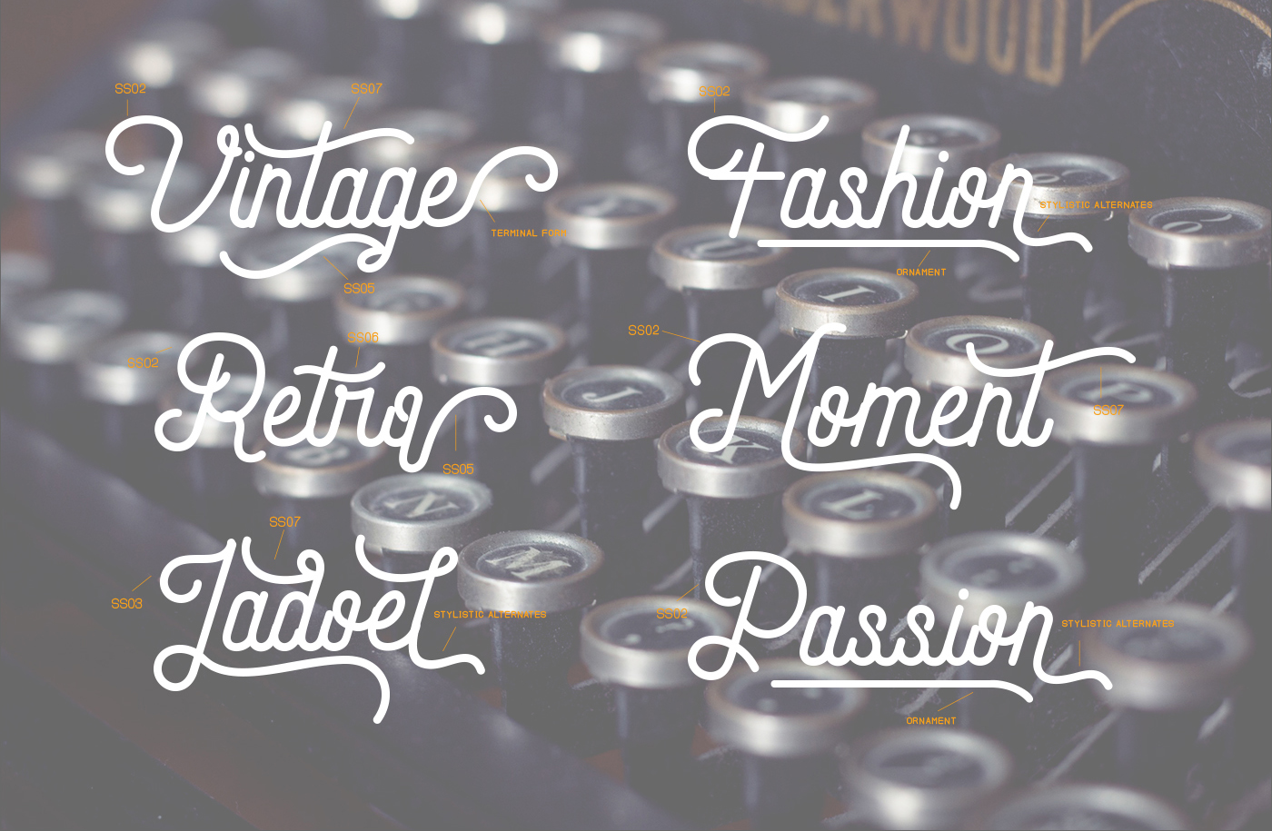 Andara Font Combination ( 30 % OFF ) example image 4