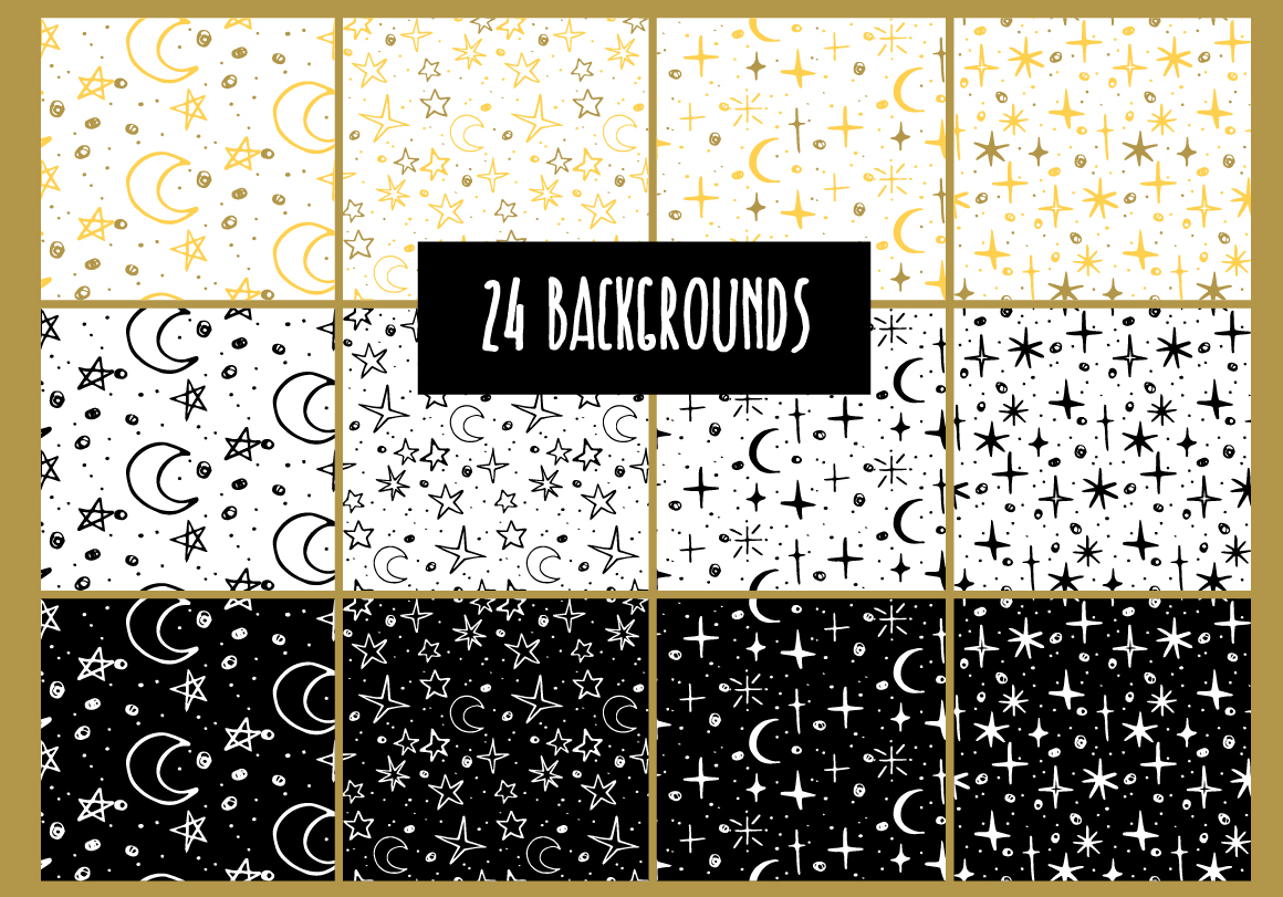 24 star backgrounds example image 1