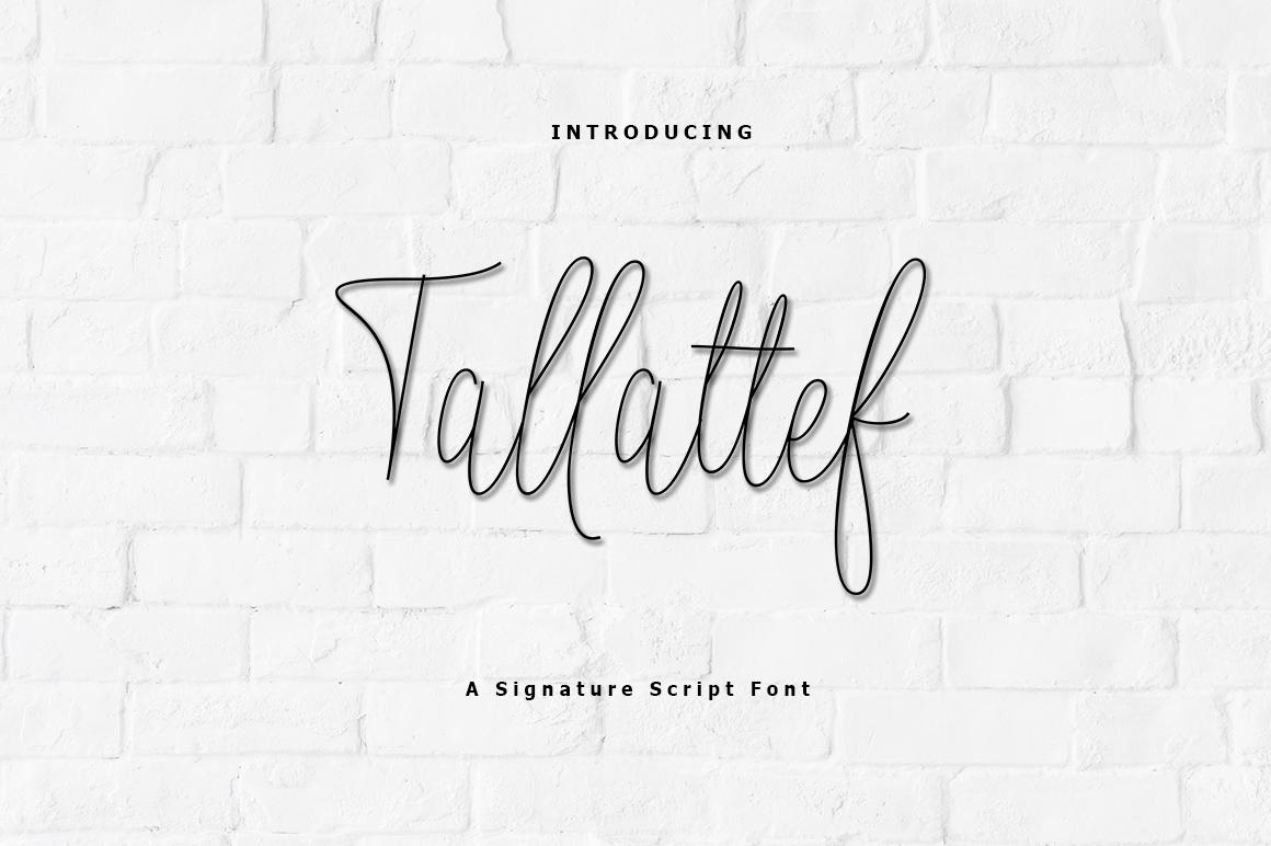 Tallattef Signature example image 1