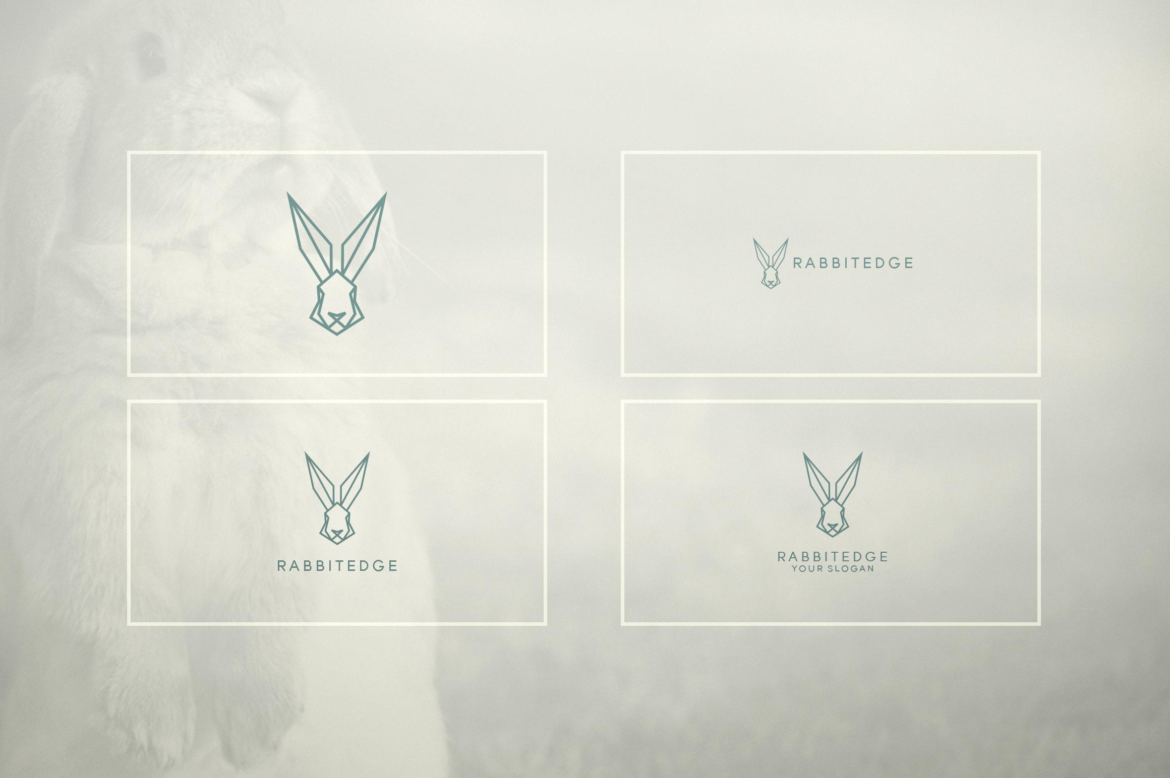 17 Geometric Animal Icons and Logos example image 12