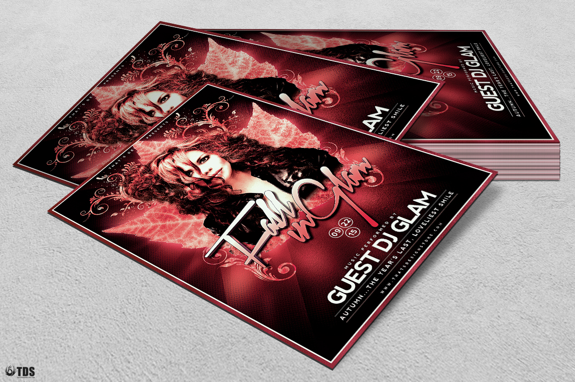 Fall in Glam Flyer Template V4 example image 4