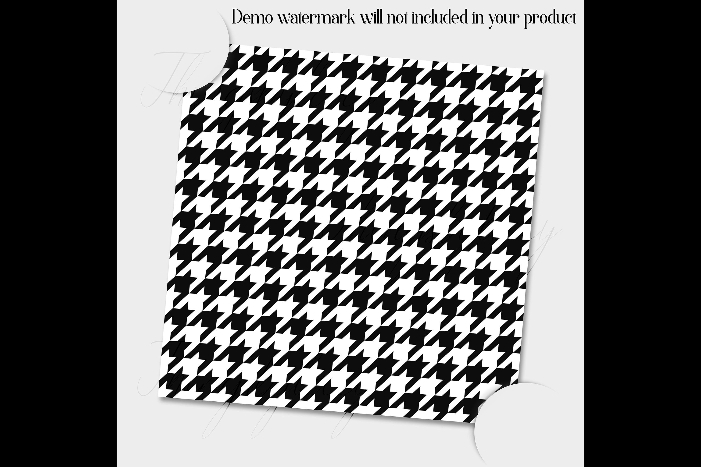 30 Seamless Black & White Basic Common Home Decor Patterns example image 2