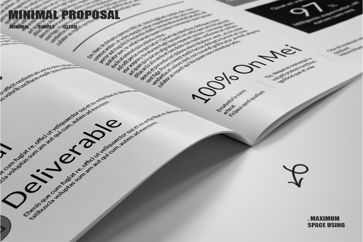 Minimal Proposal Template example image 10