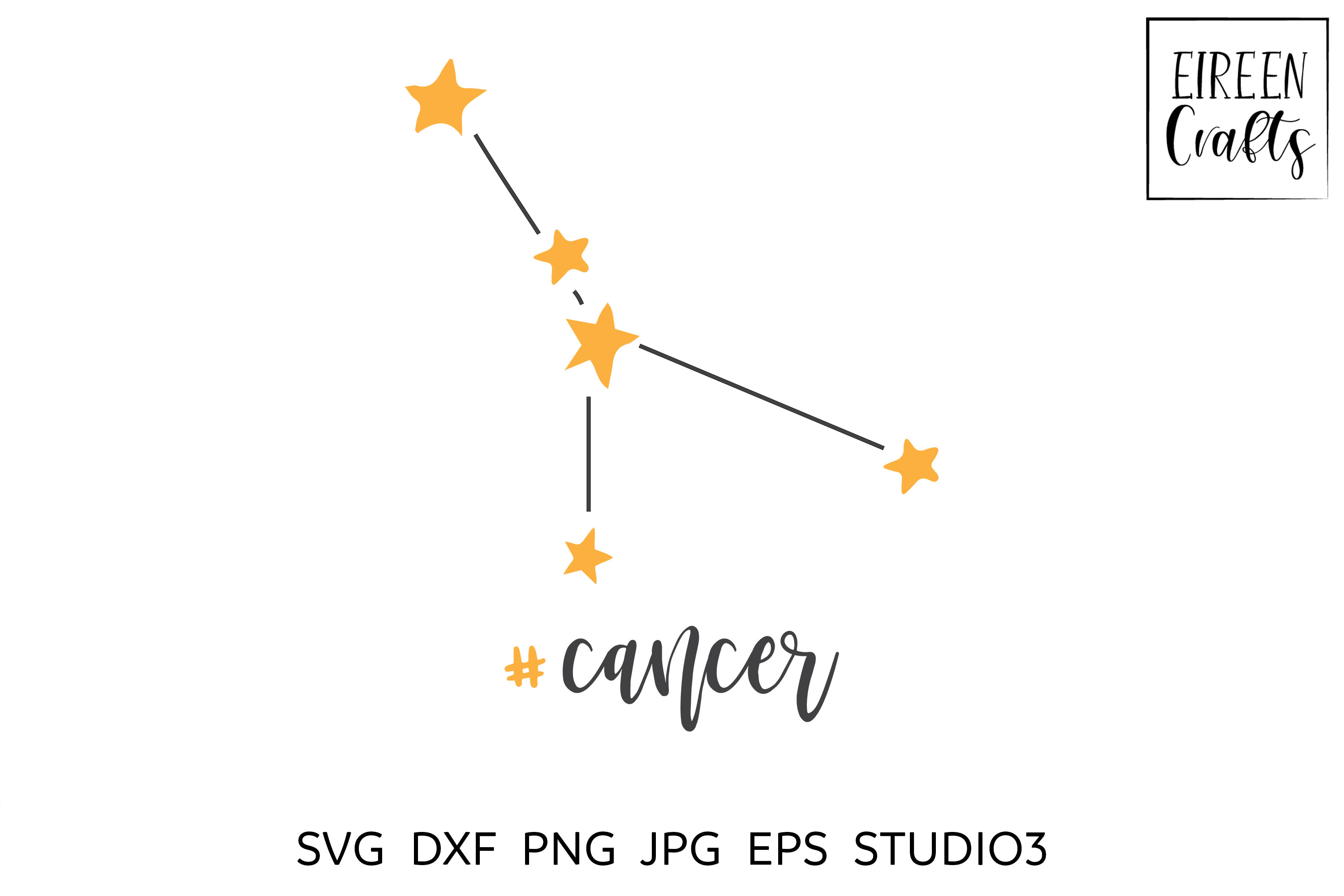 Zodiac SVG Bundle - Zodiac cut files for Cricut & Silhouette example image 5
