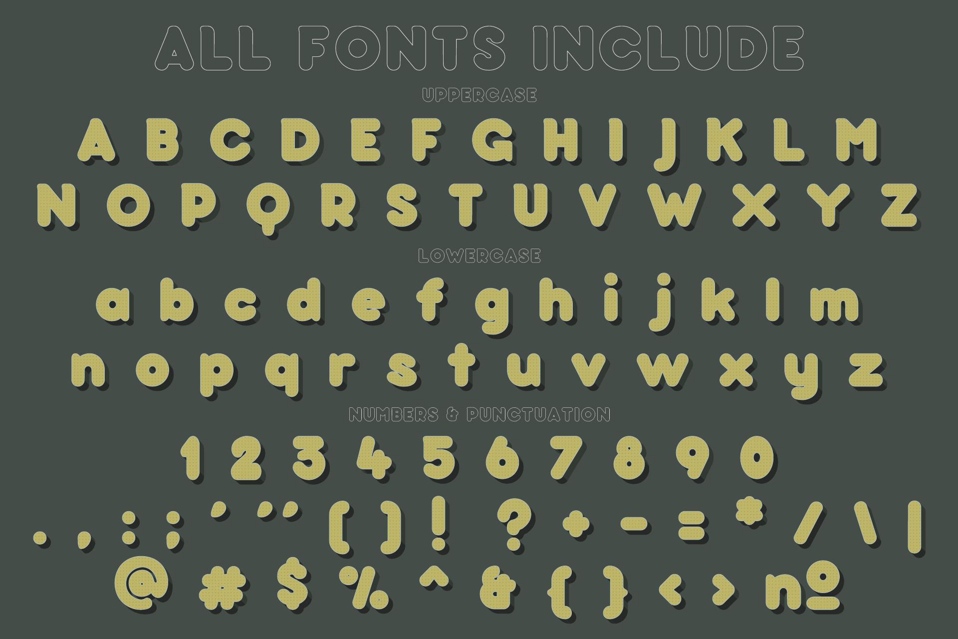 Baku - SVG color font example image 4