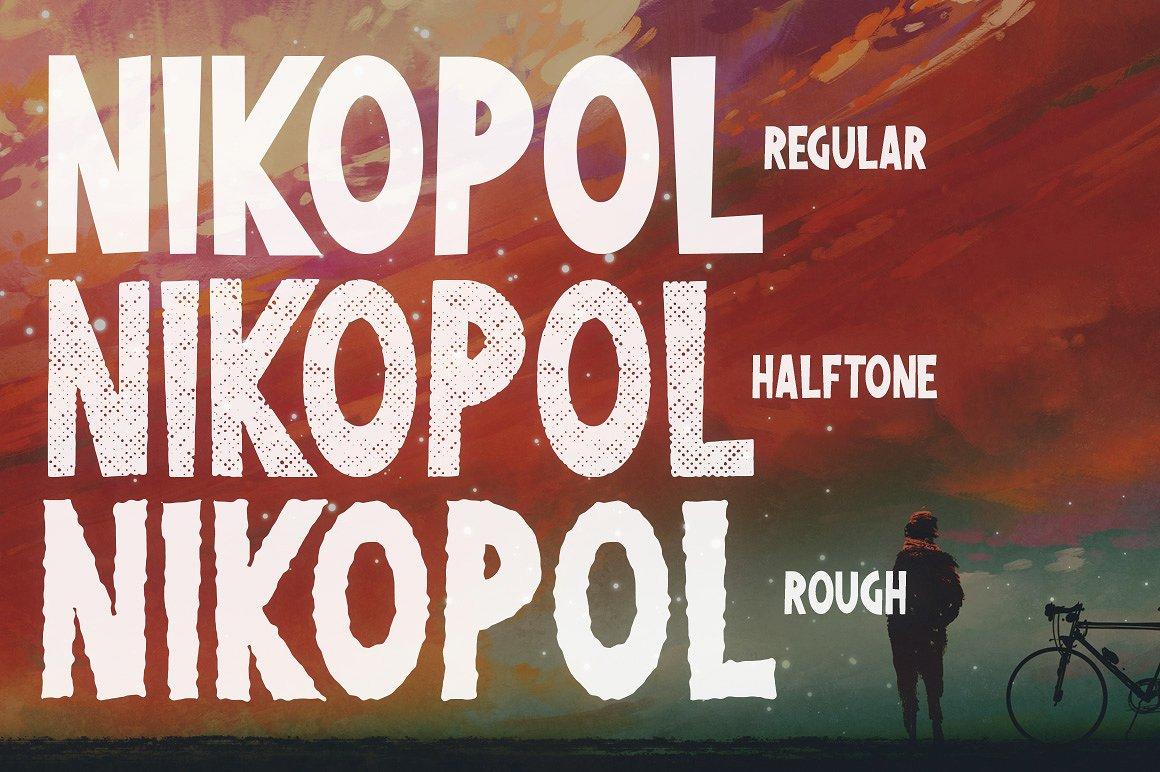 Nikopol Typeface example image 6