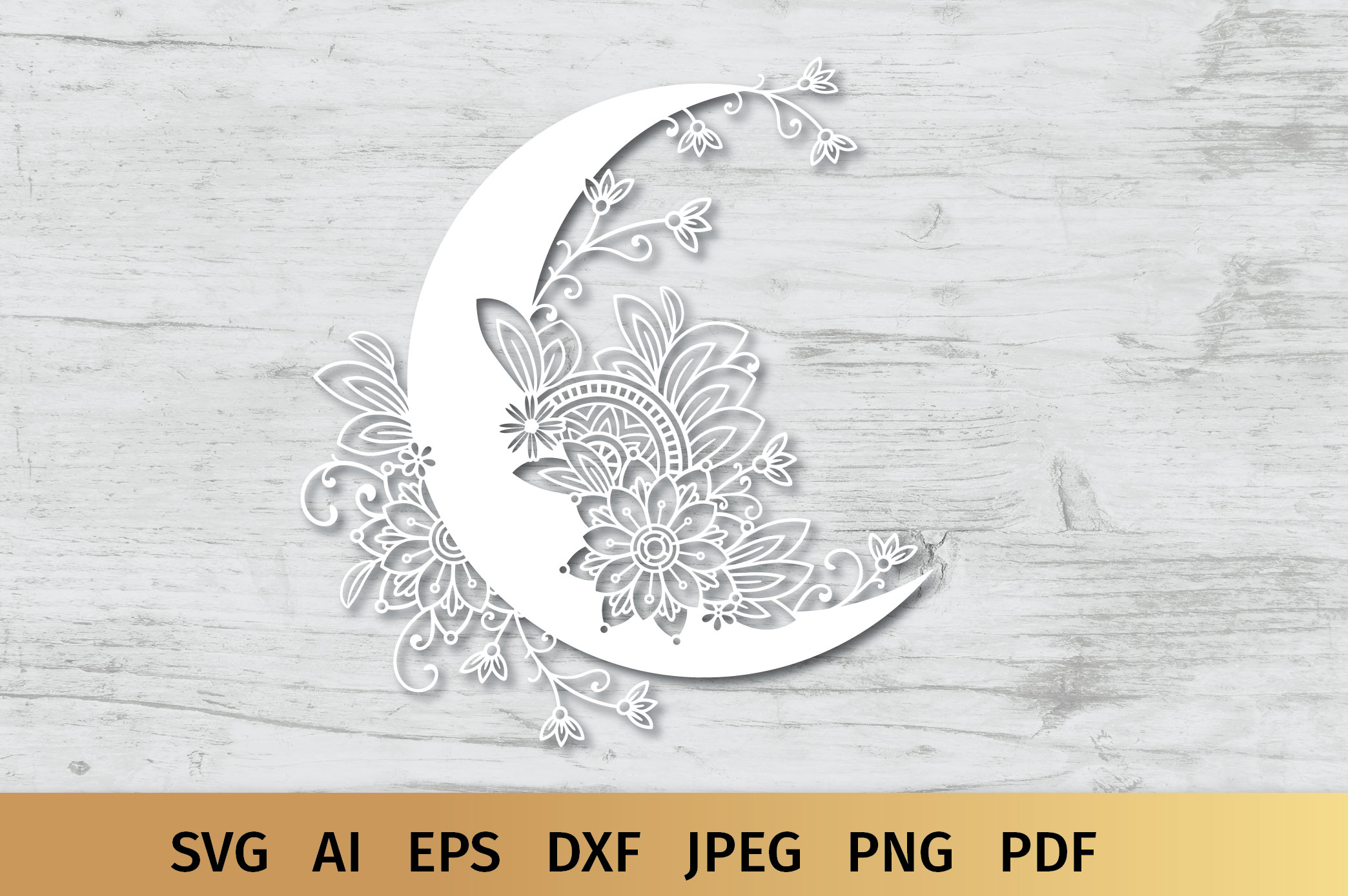 Moon SVG example image 5