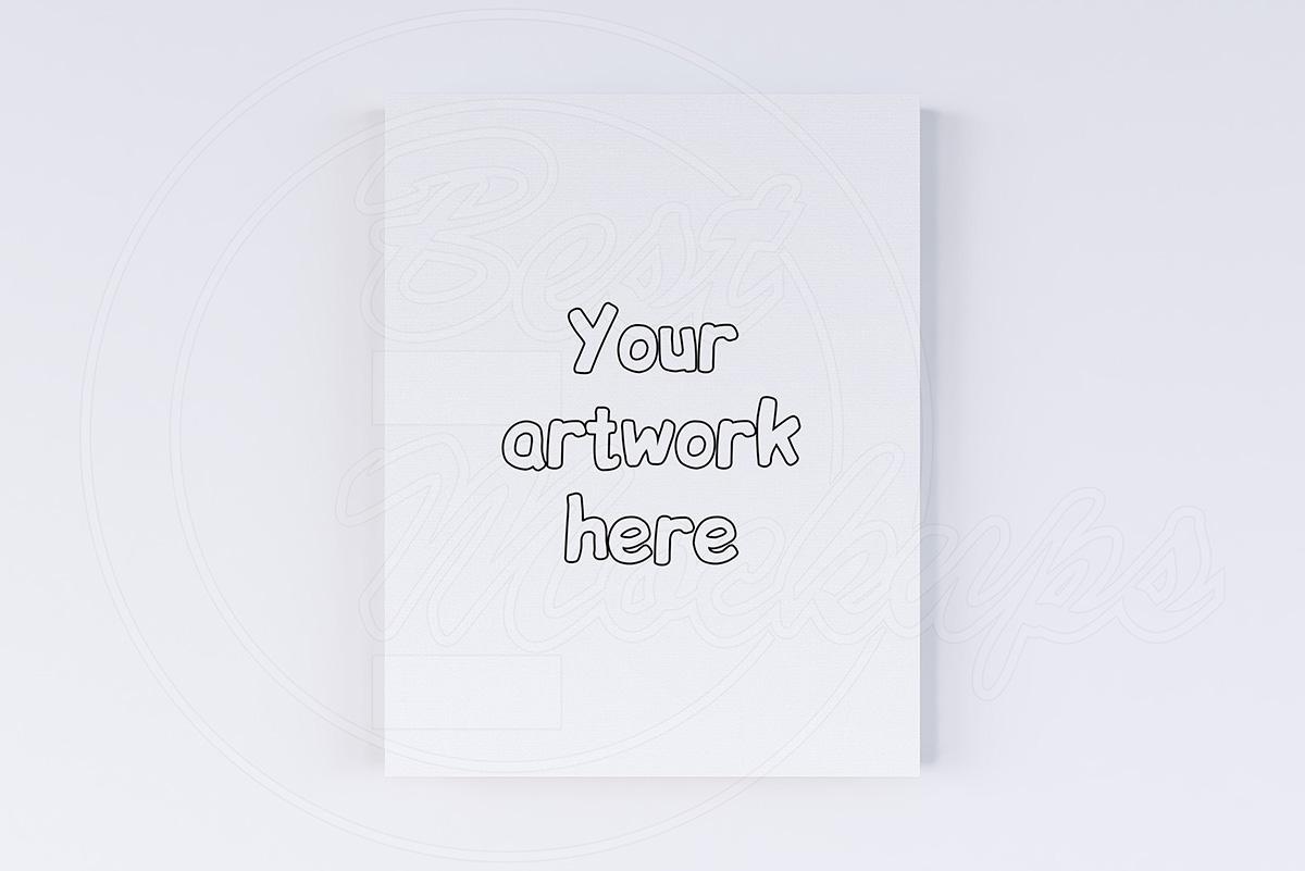 Canvas size 11x14