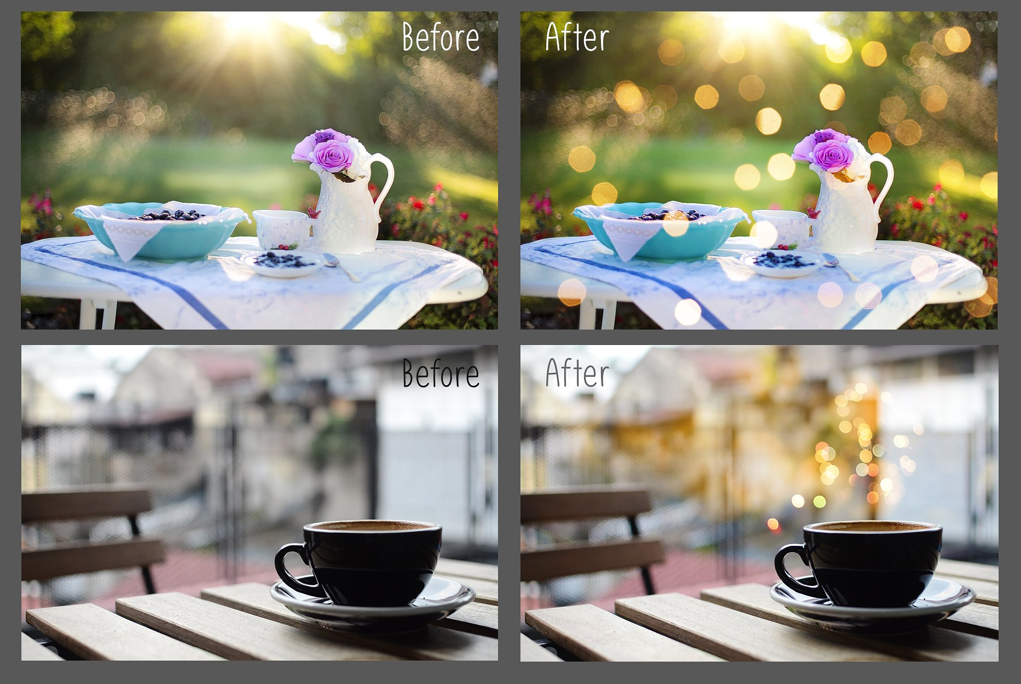 100 Golden Lights Photo Overlays example image 10