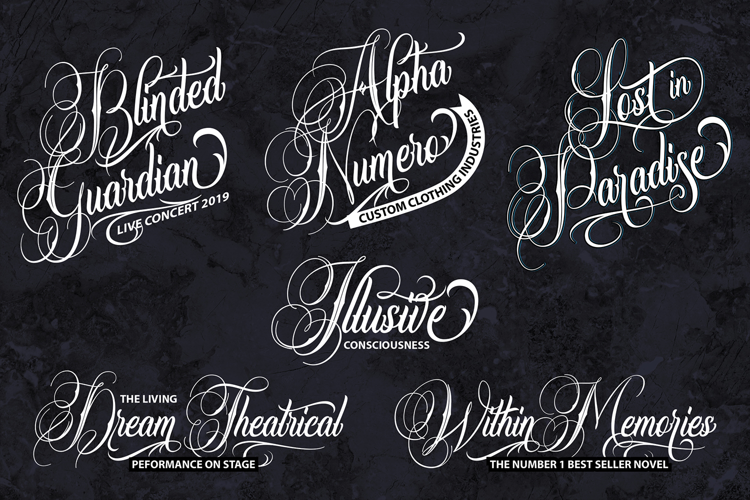 SnakeFangs | Handcrafted Script Font example image 2