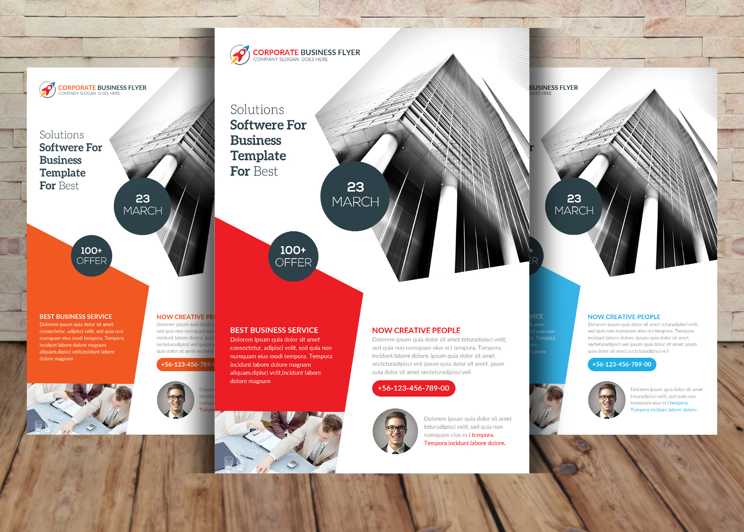 5 Business Flyer Bundle example image 2