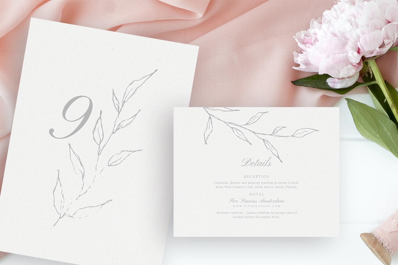Elegant Floral Wedding Suite example image 3