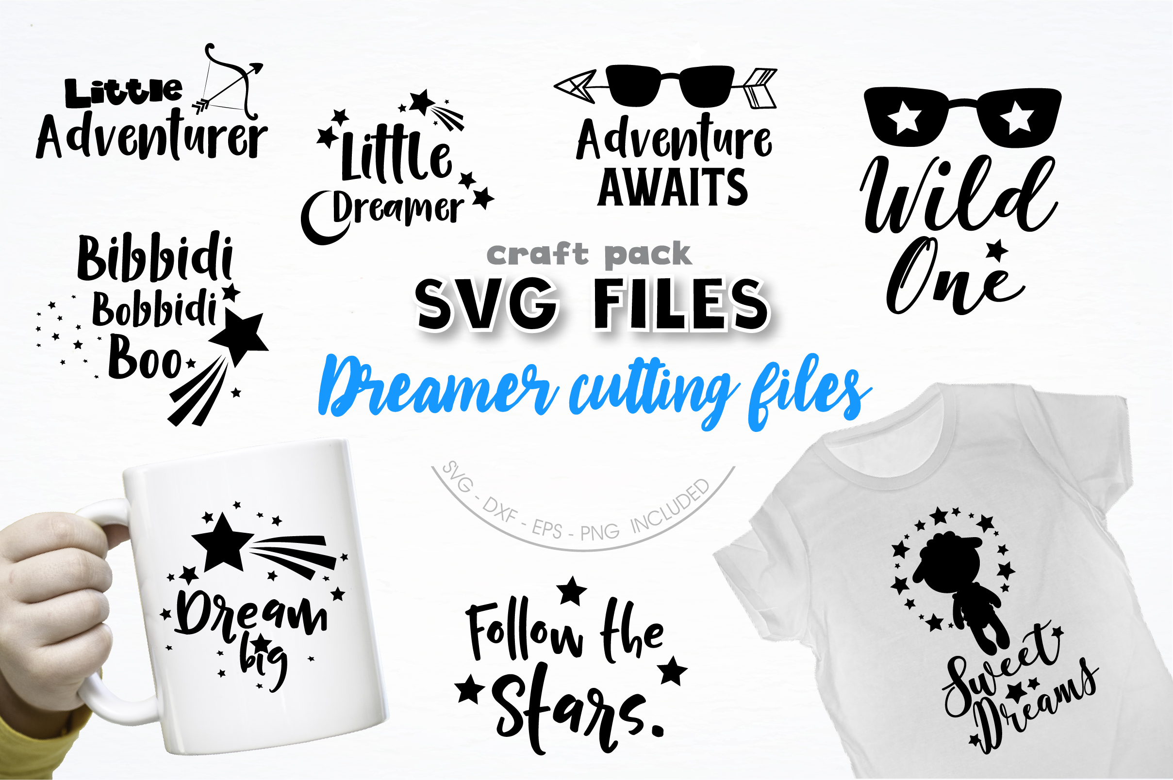 AMAZING SVG AND GRAPHIC BUNDLE- 550 in 1 example image 11