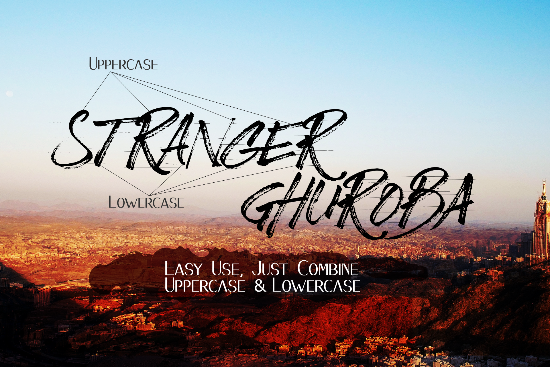 BizardleSs Handbrush Typeface example image 2