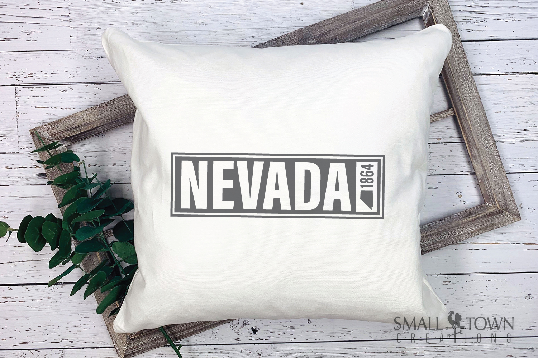 Nevada, The Silver State - slogan, Logo, PRINT, CUT & DESIGN example image 5