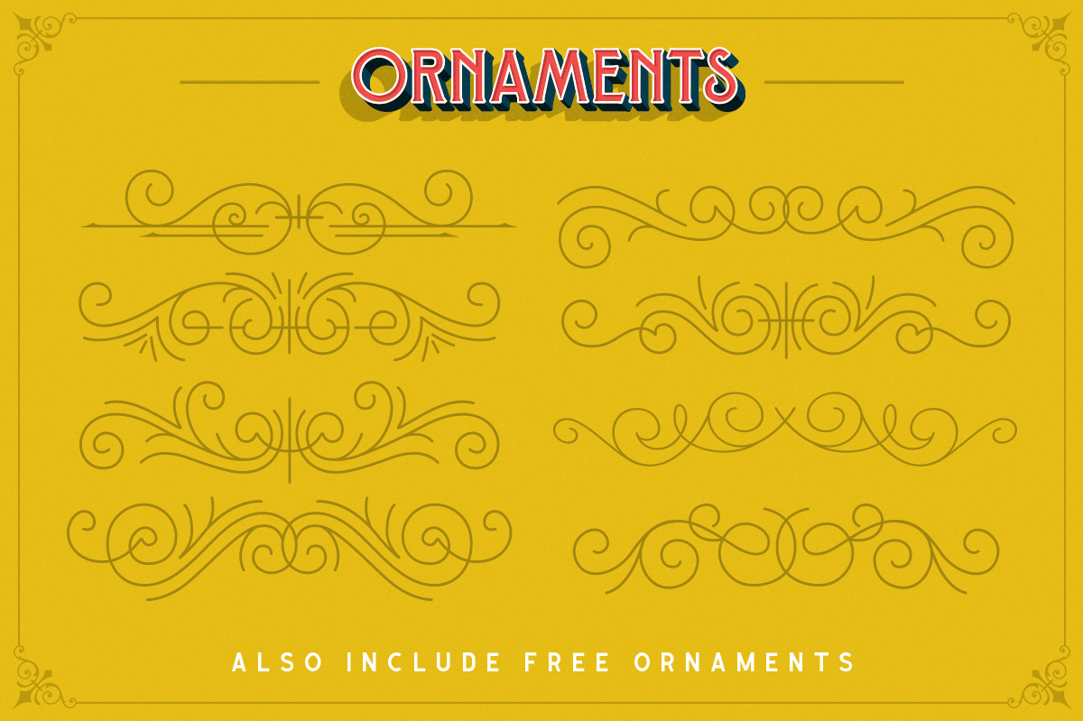 Sequents - Layered Font and ORNAMENT example image 10