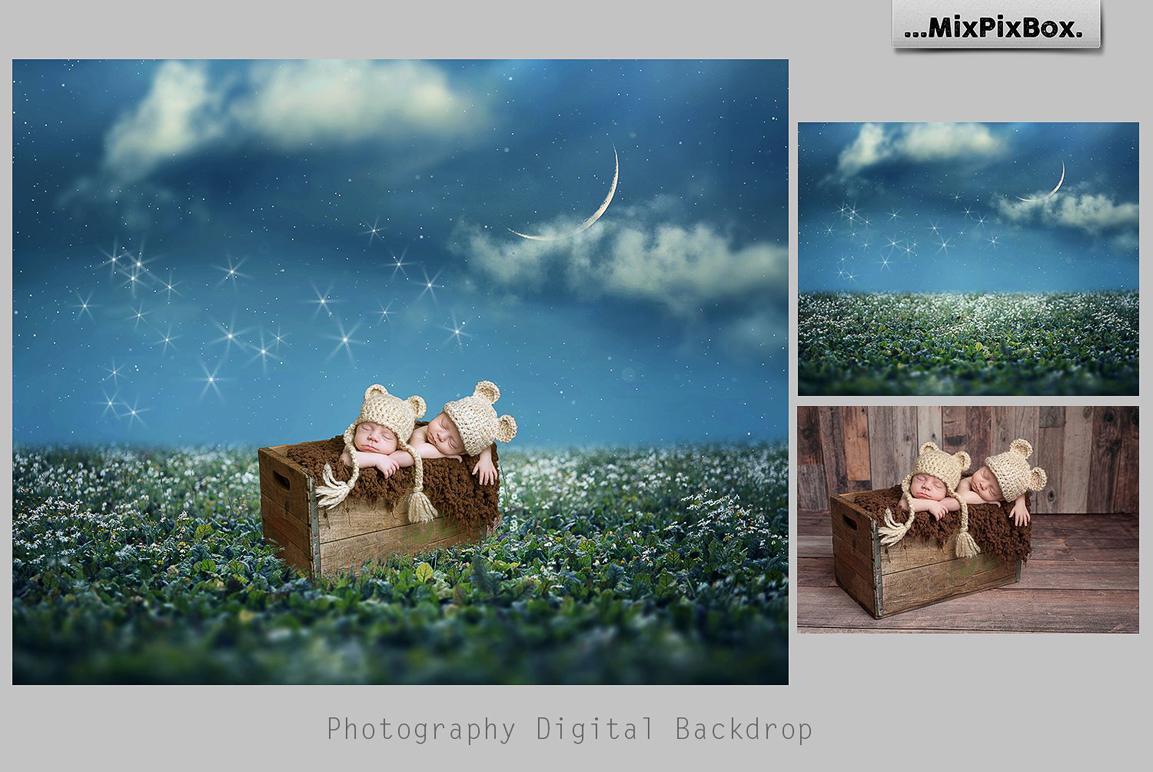Magic Night Backdrops example image 5