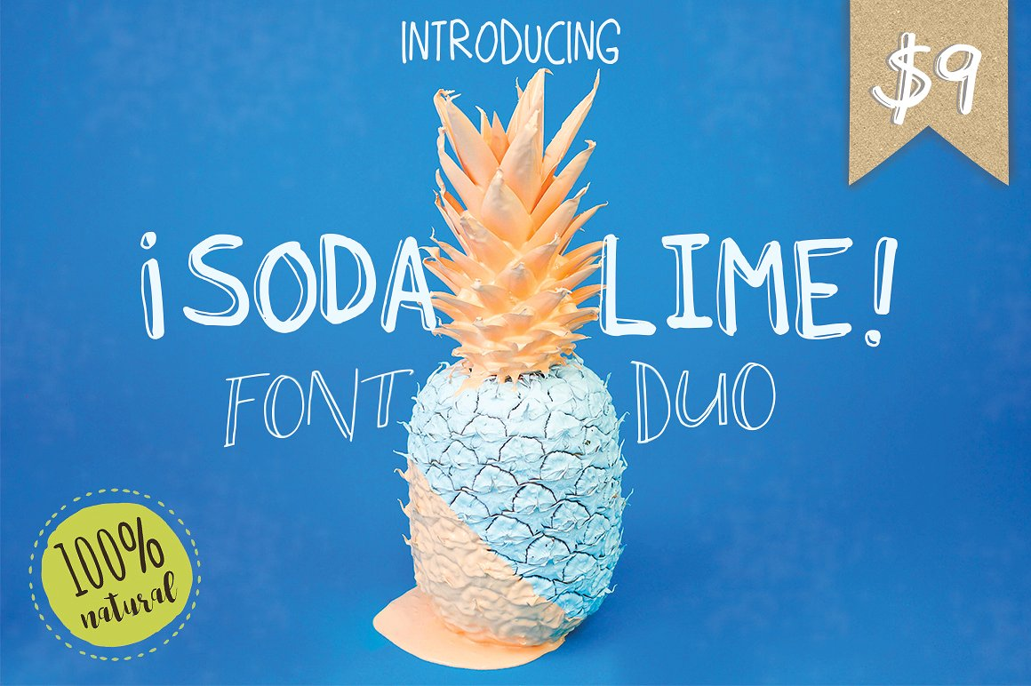 Soda Lime Font Duo example image 1
