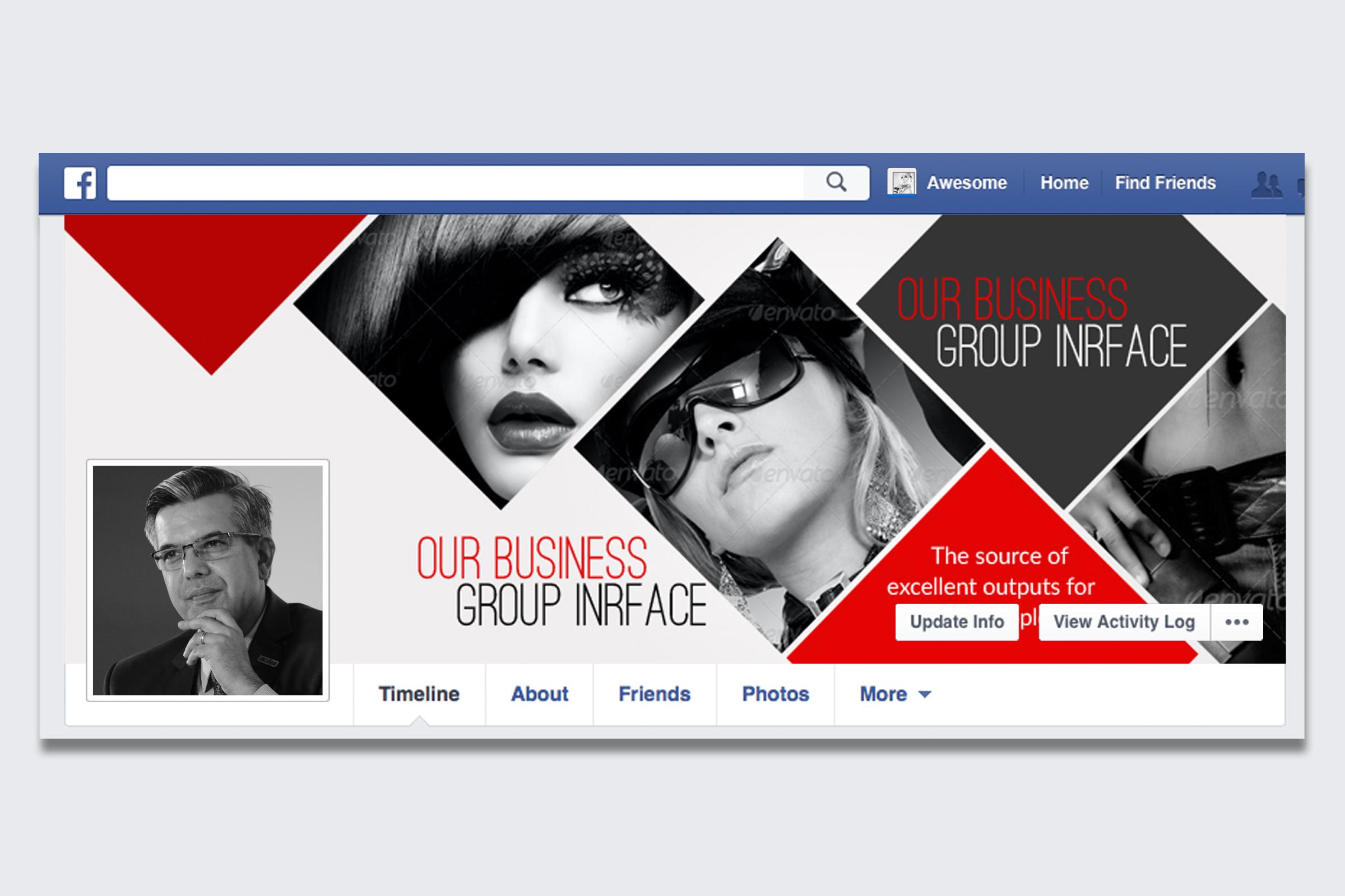 Stylish Facebook Timeline Cover example image 1