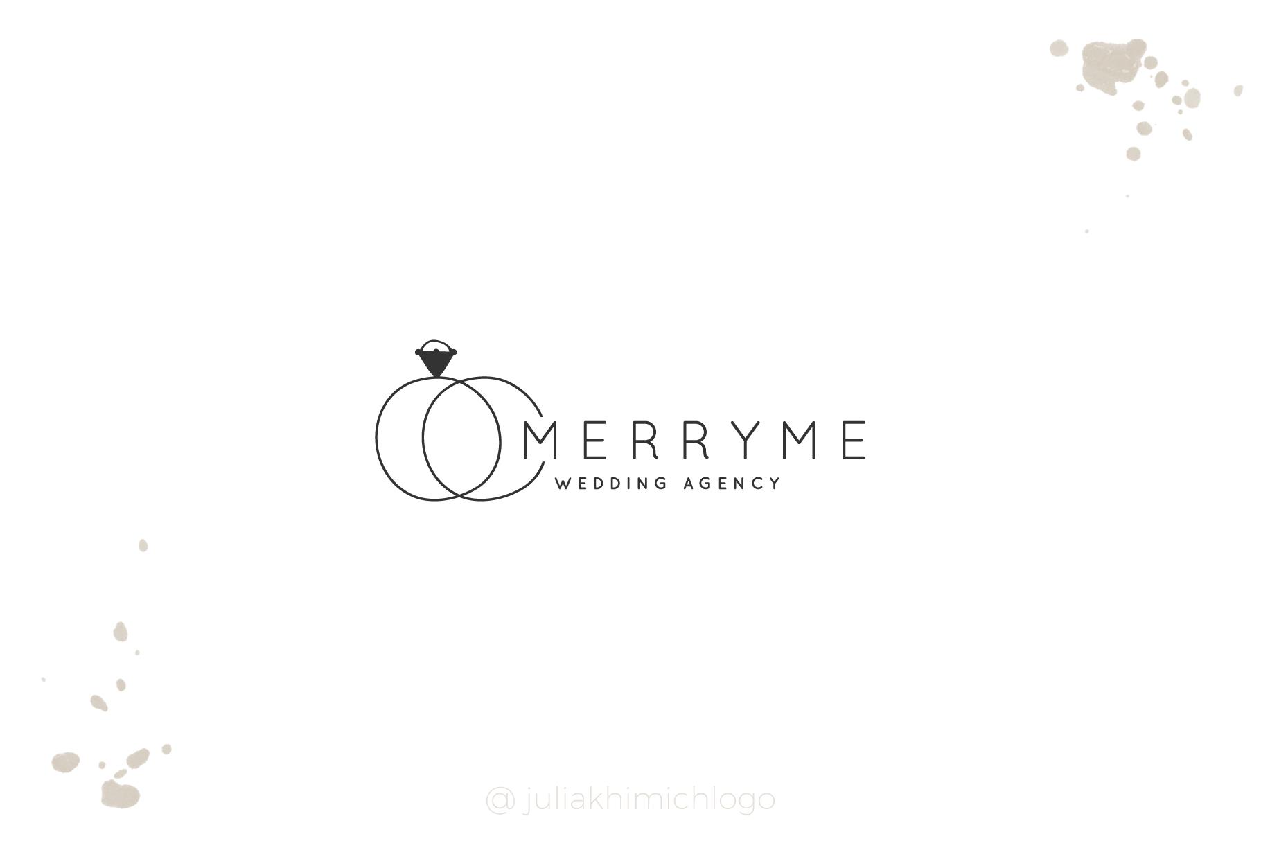 Logo Pack Vol.1. Romantic & Wedding example image 3