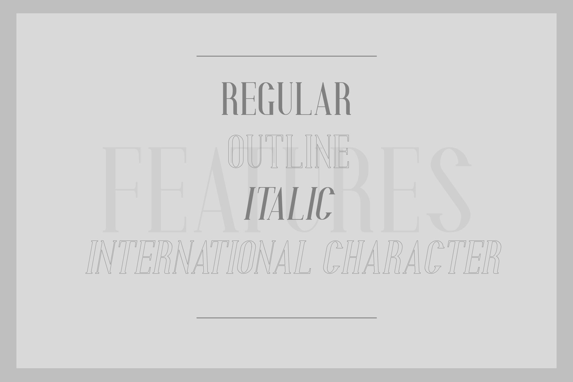 Aglow Serif - 4 Style example image 2