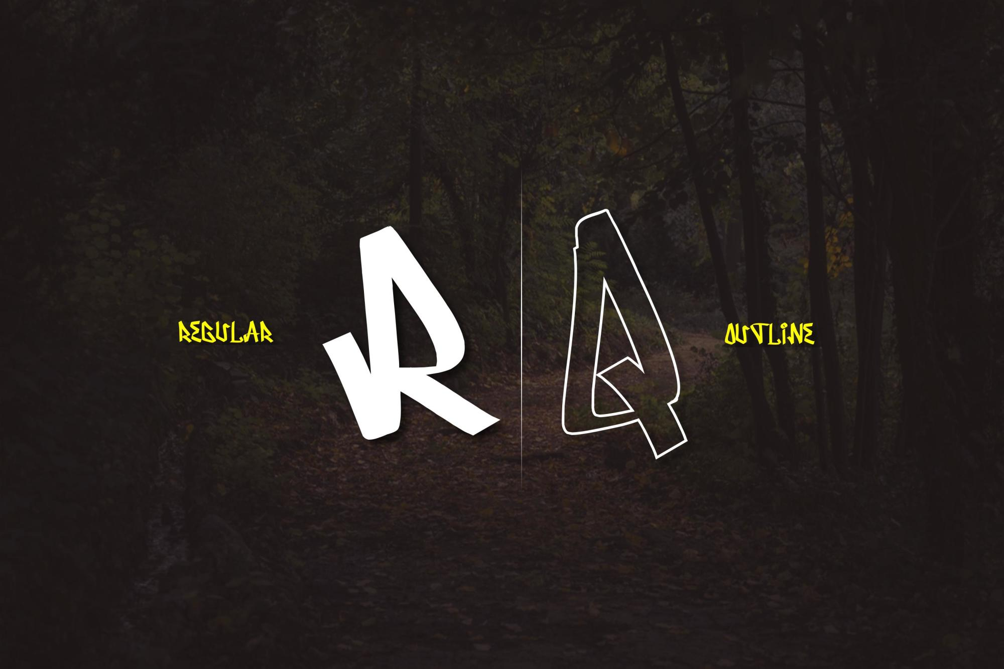 Serpong Typeface example image 4
