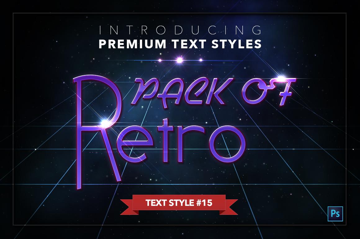 Retro #1 - 20 Text Styles example image 16