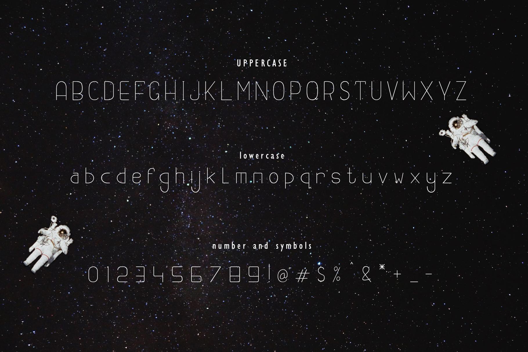 Opollo 13 font example image 9