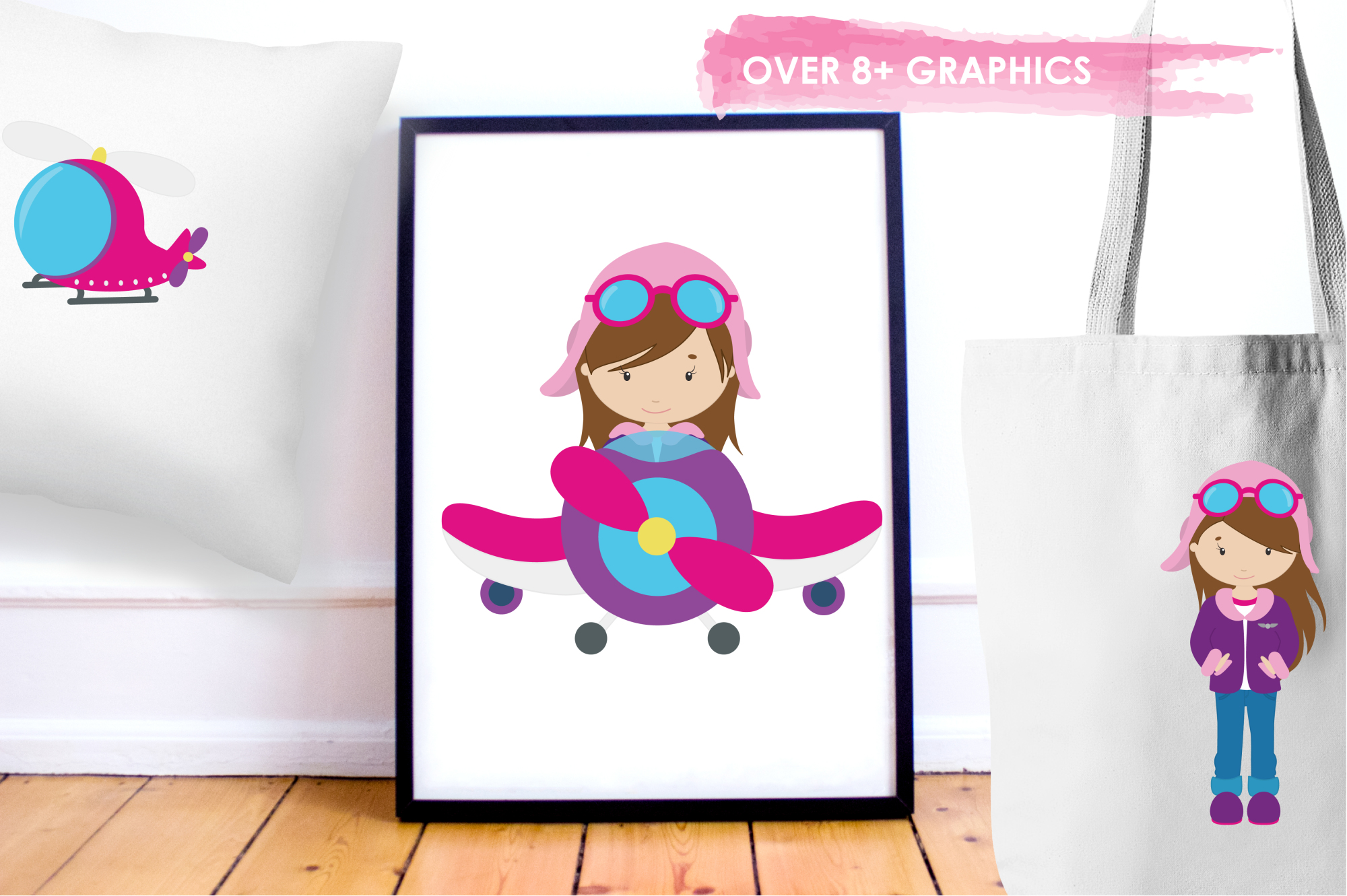 Flygirls graphics and illustrations example image 5