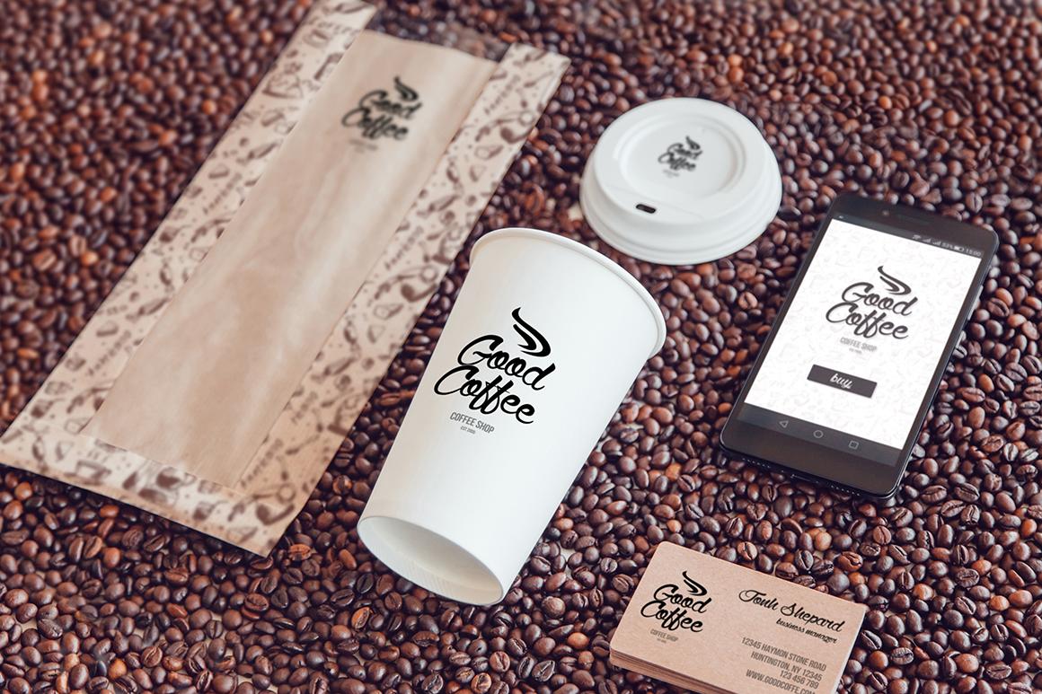 Coffee Branding Mock-up example image 13