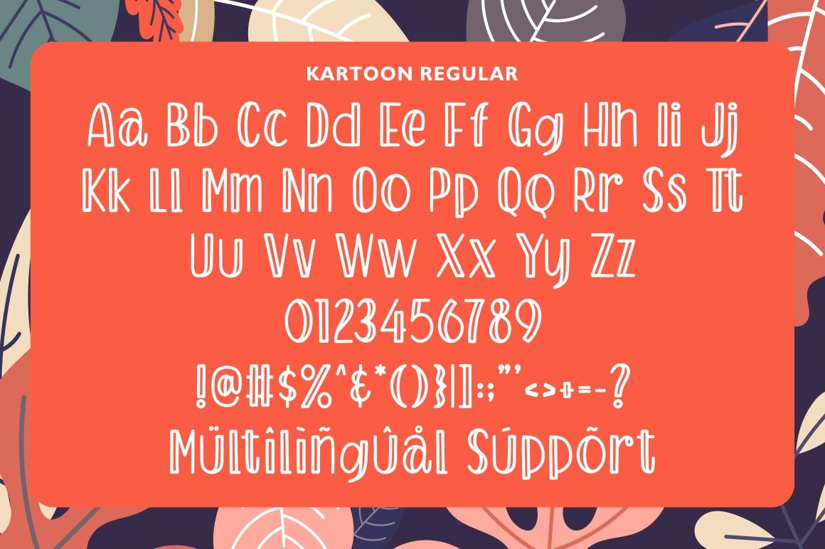 Kartoon - Display Font example image 4
