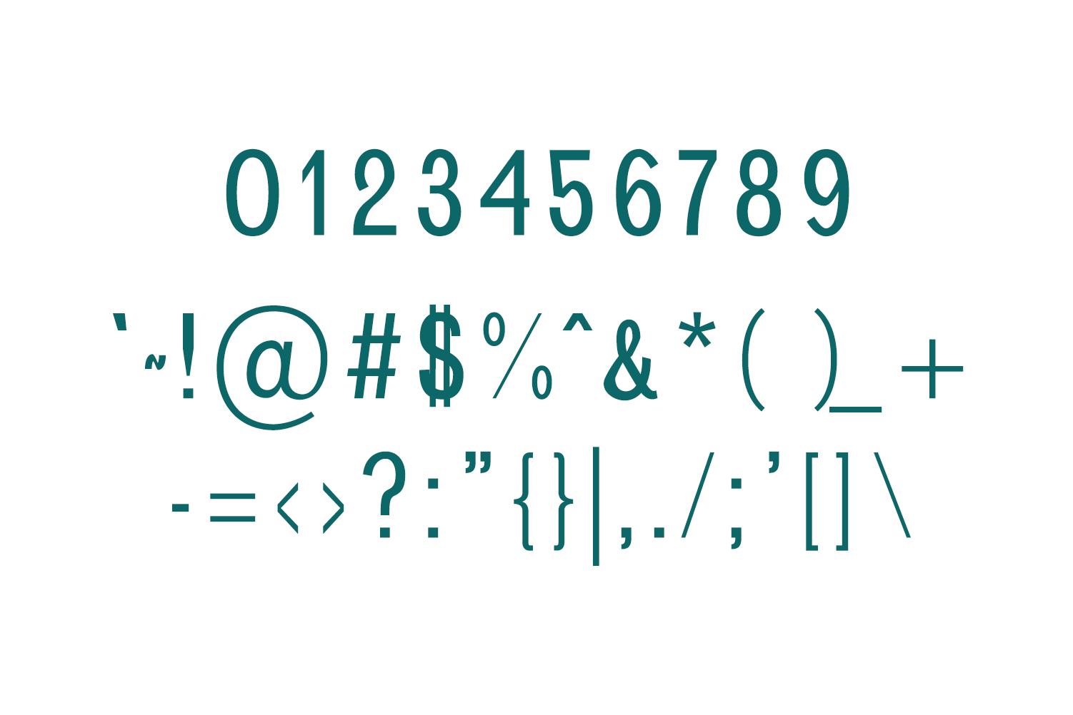 Brendon Sans Serif Typeface example image 3