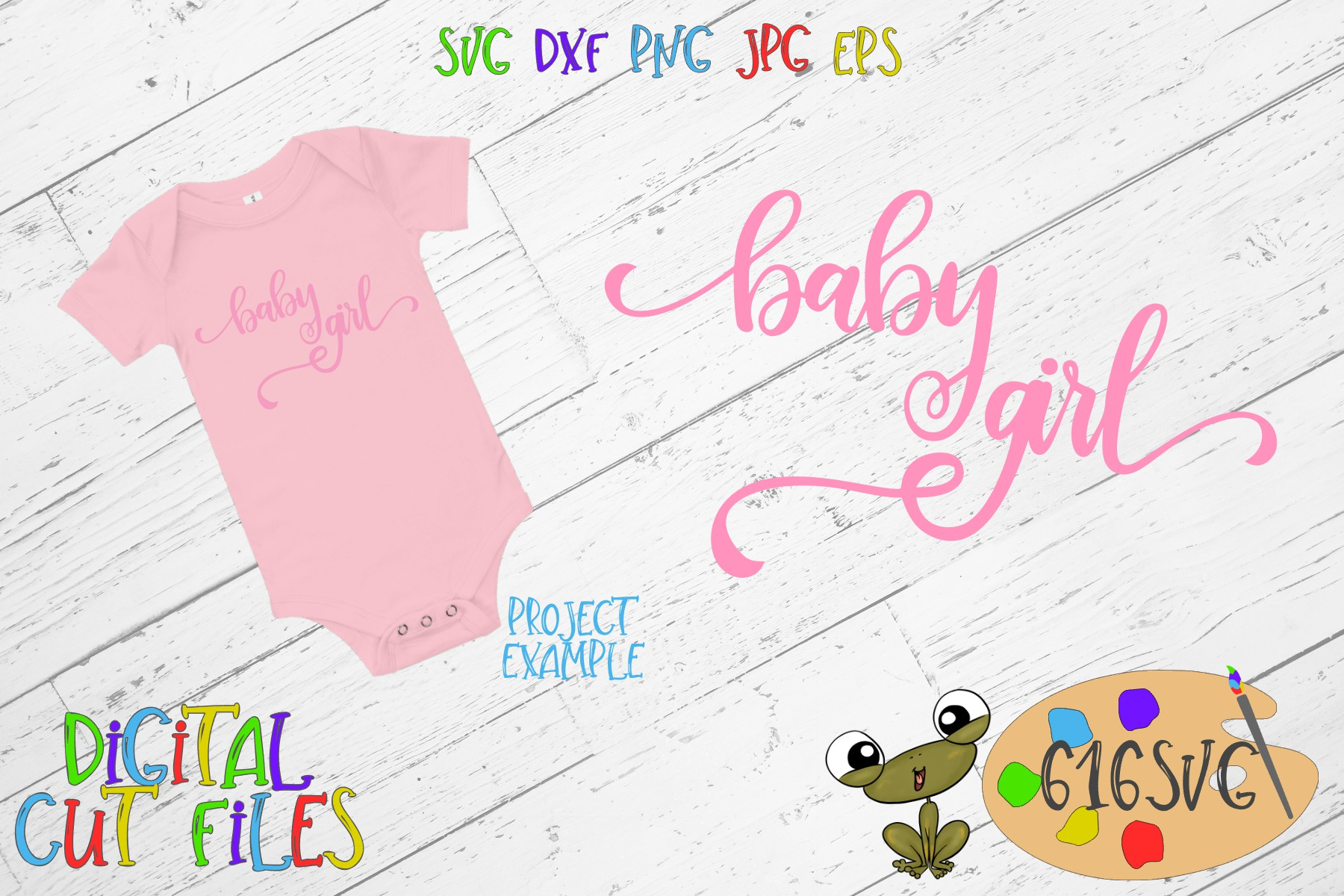 Baby Girl SVG example image 1