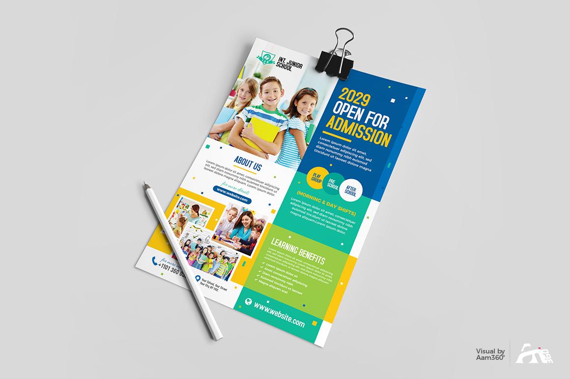 Junior School Admission Flyer example image 2