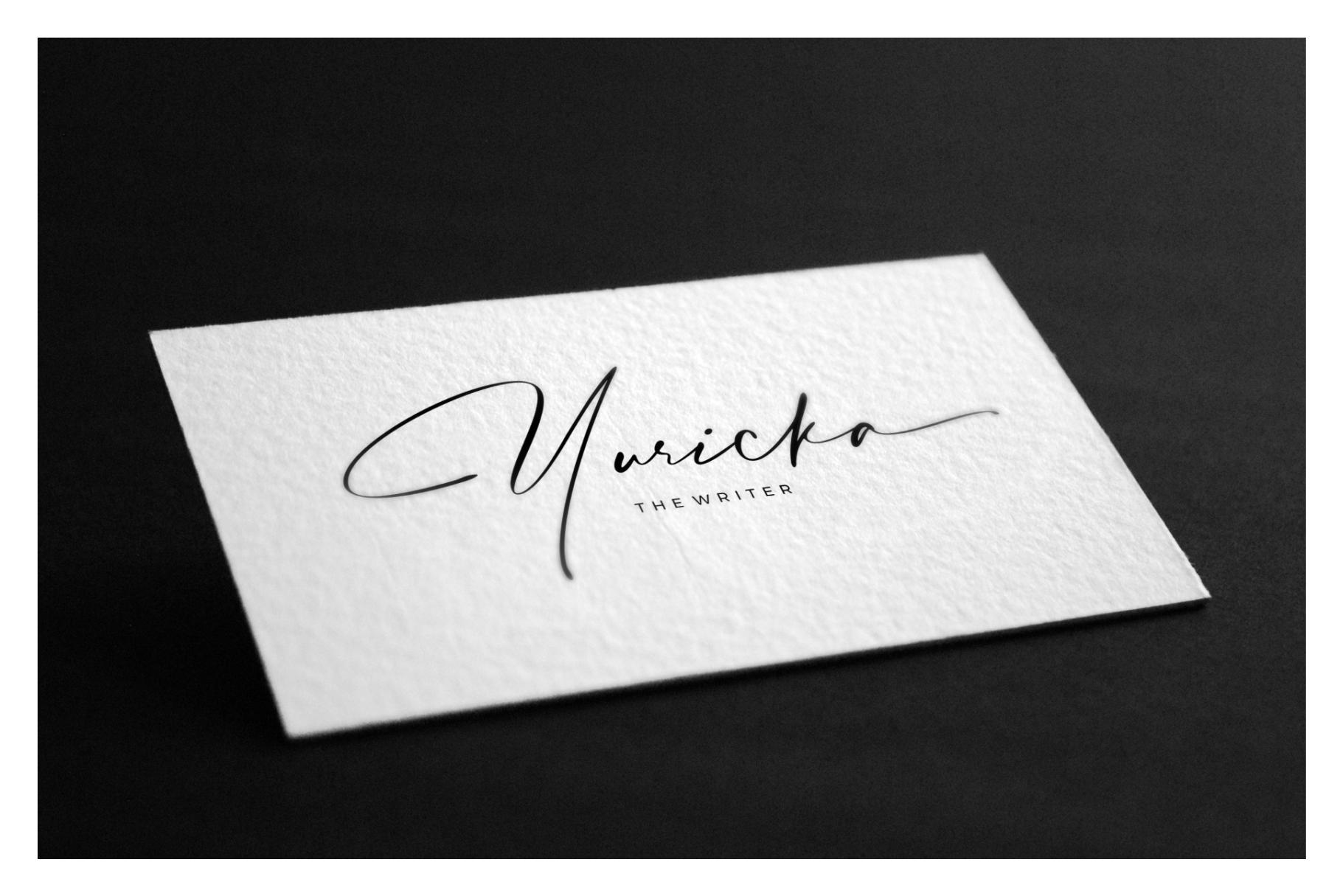Hafidz | Luxury Signature Font example image 8