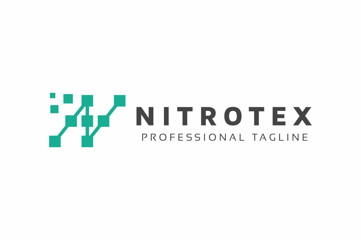 N Pixel Logo example image 3