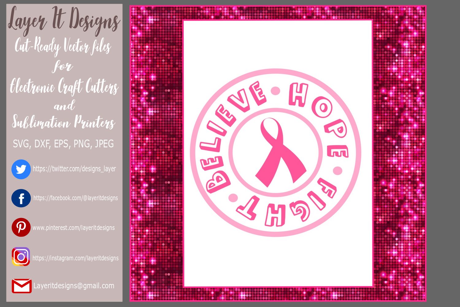 Breast cancer Awareness Design File example image 4