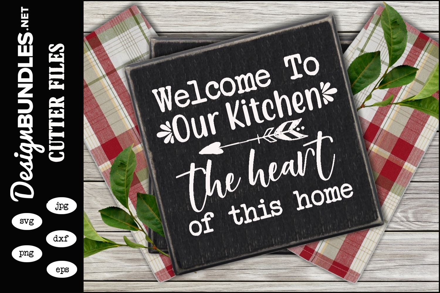 Our Kitchen SVG example image 1